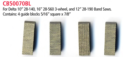 Cool Blocks Band Saw Blade Guides Accessories