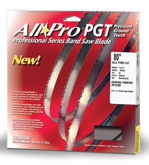 All Pro® PGT Premium Band Saw Blades