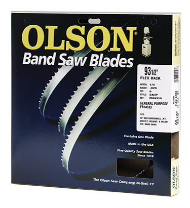 Flex Back Band Saw Blades