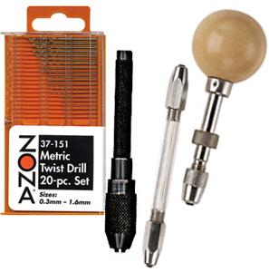 Pin Vises and Miniature Twist Drills