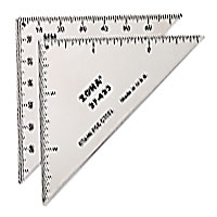 "3"" Triangle Ruler 37-433"