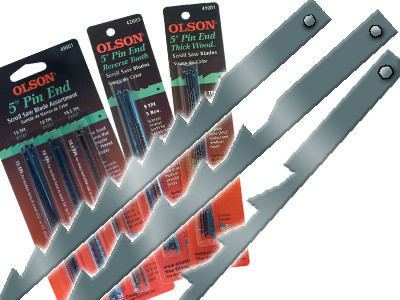 Pin end scroll saw blades 5 3 and 4 olson saw pin end blades 12 pack keyboard keysfo Image collections
