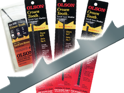 Crown Tooth Blades 5in.